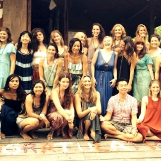 "Yoga Teacher Training at the Yoga Barn<br/><span class=""loc-g""><i class=""fa fa-map-marker"" aria-hidden=""true""></i> Ubud, Bali</span><br/><span class=""date-g""><i class=""fa fa-calendar"" aria-hidden=""true""></i> March 30 - April 26 2014</span>"