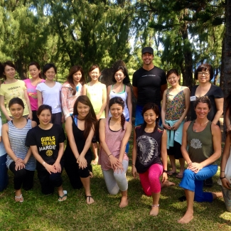 "Japanese Yoga Teacher Training at Hawaiian Island Retreat<br/><span class=""loc-g""><i class=""fa fa-map-marker"" aria-hidden=""true""></i> Big Island, Hawaii</span><br/><span class=""date-g""><i class=""fa fa-calendar"" aria-hidden=""true""></i> March 23 - April 19 2015</span>"