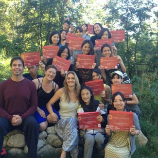 "Japanese Yoga Teacher Training at Mountain Waters<br/><span class=""loc-g""><i class=""fa fa-map-marker"" aria-hidden=""true""></i> Nelson, British Columbia</span><br/><span class=""date-g""><i class=""fa fa-calendar"" aria-hidden=""true""></i> August 4 - August 31 2013</span>"