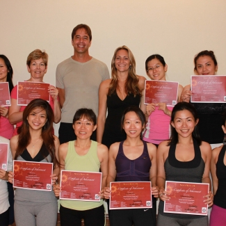 "Yoga Teacher Training in Malaysia<br/><span class=""loc-g""><i class=""fa fa-map-marker"" aria-hidden=""true""></i> Malaysia</span><br/><span class=""date-g""><i class=""fa fa-calendar"" aria-hidden=""true""></i> May and September 2011</span>"