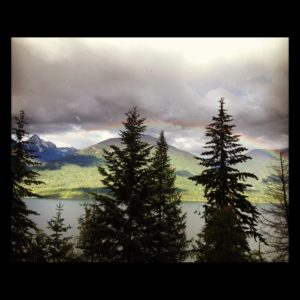 canada rainbow forest vision quest