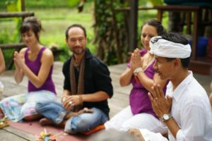 ceremony ubud bali yoga barn graduation