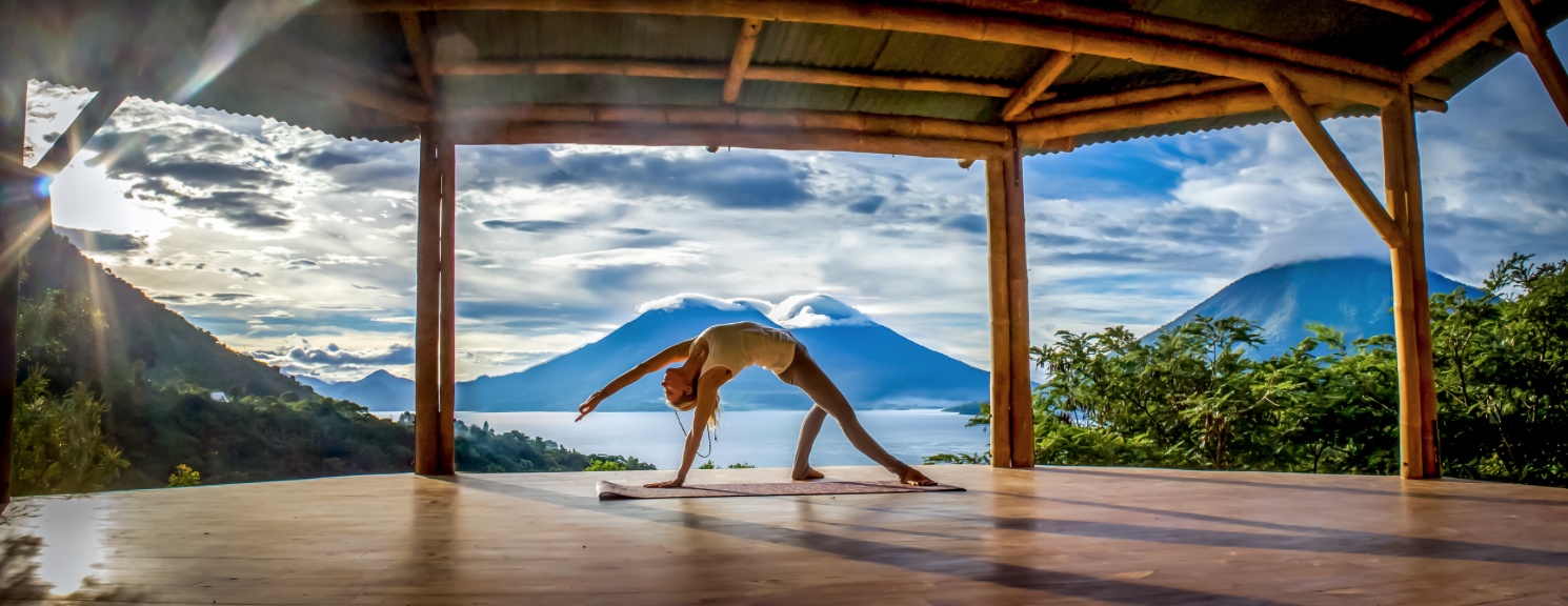 Yoga Forest Guatemala Wild Thing Asana