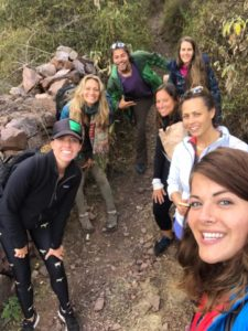 Peru Group Retreat Immersion Hike